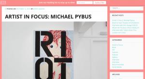 Artist In Focus: Michael Pybus